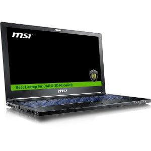 MSI WS63 Workstation Laptop 15.6