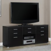 Monarch 60 in. TV Console with 8 Drawers