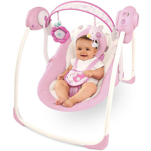 Comfort & Harmony by Bright Starts Portable Swing, Florabella