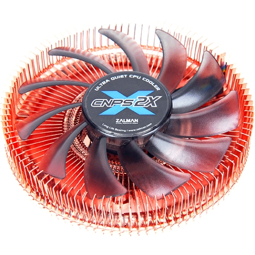 Zalman Mini-ITX CPU Cooler - 1 x 80 mm - 2600 rpm - Long Life Bearing - Socket H3 LGA-1150, Socket AM2 PGA-940, Socket AM2+ PGA-940, Socket AM3 PGA-941, Socket AM3+, Socket T LGA-775, Socket