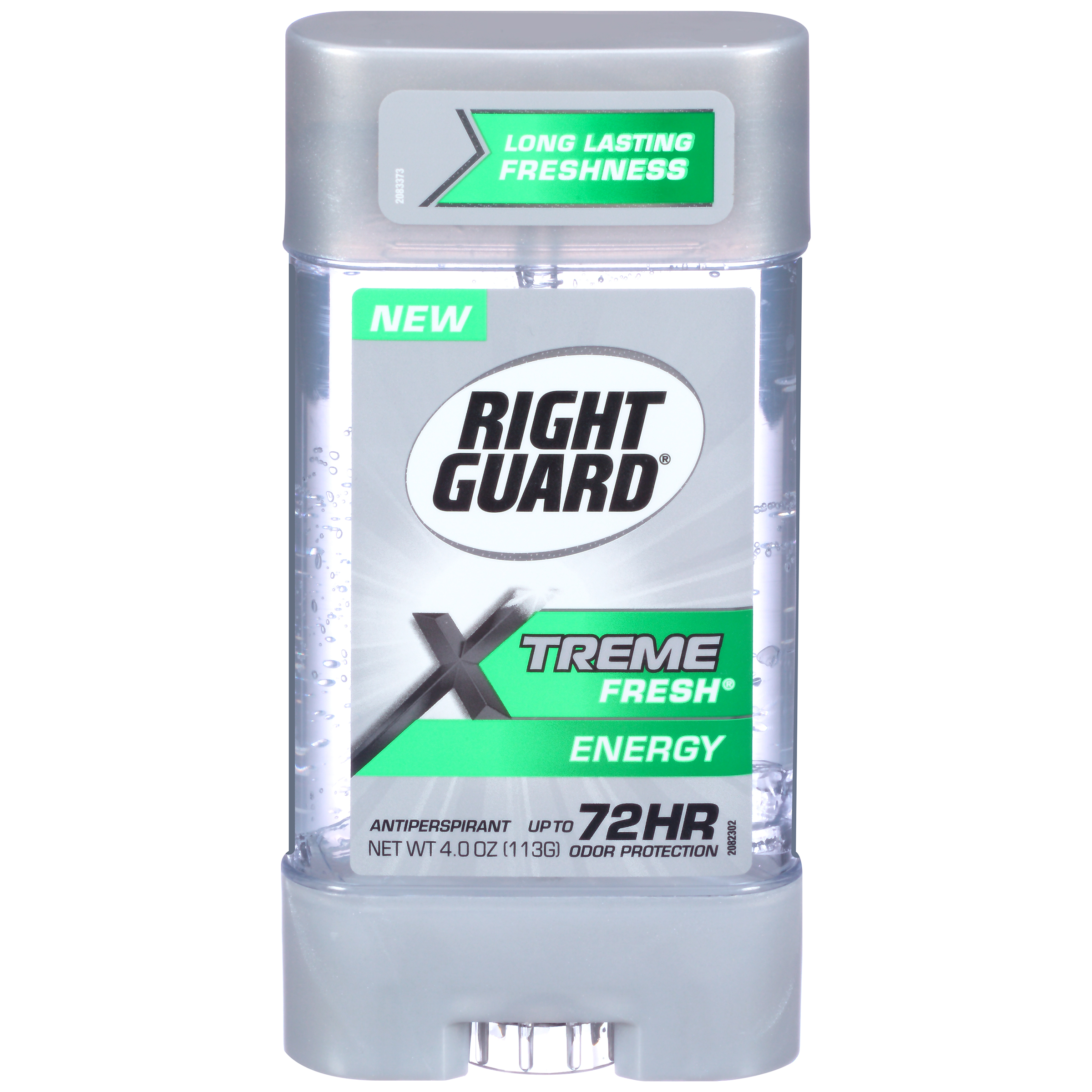 Right Guard Xtreme Fresh Antiperspirant Deodorant Gel, Energy, 4 Ounce