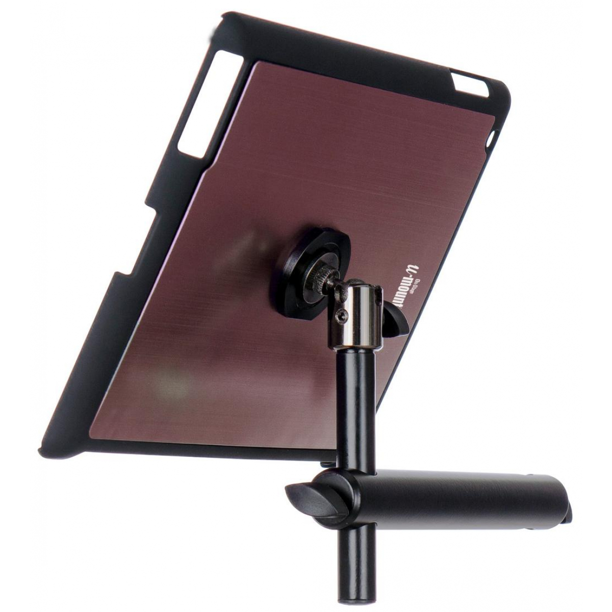 On-Stage TCM9160B iPad® Snap-On™ Cover w/ Mounting Bar, Black