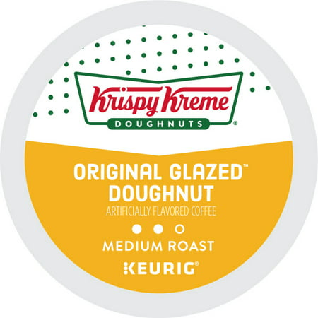 Krispy Kreme, Original Glazed Doughnut, Keurig K-Cup Coffee Pods, Medium Roast, 18 Count - Krispy Kreme Halloween Rap