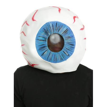 Giant Eyeball Mask (Suicide Squad Eyeball Adult Overhead Latex Costume Mask, One)