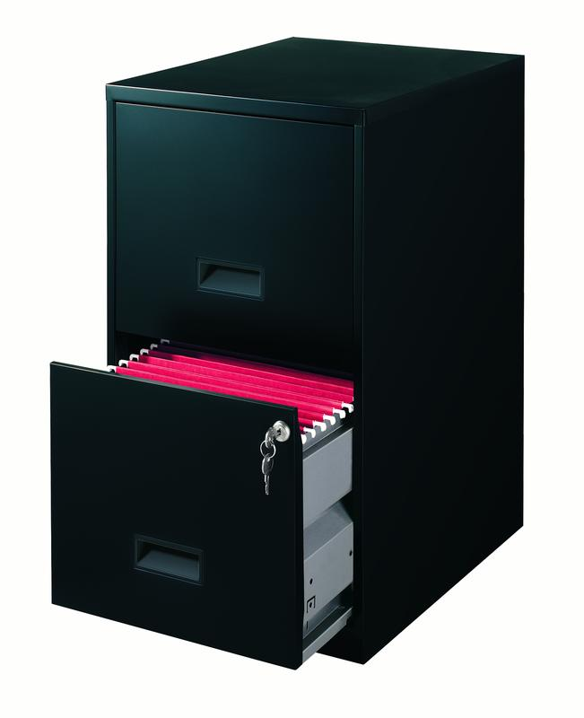 18 Inches Two Drawer Metal Cabinet