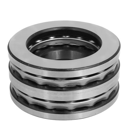 90mmx55mmx45mm Single Row Thrust Ball Bearing Silver Gray 52211 - image 2 of 3