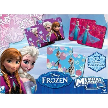 Disney Frozen Memory Match Cardinal Game