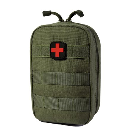 EMT Pouch MOLLE Ifak Pouch Tactical MOLLE Medical First Aid Kit Utility  Pouch