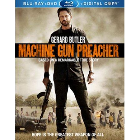 Machine Gun Preacher (Blu-ray + DVD) (Best Guns In The World Military)