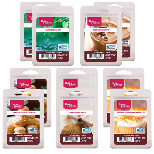 Better Homes and Gardens 10-Pack Wax Assortment, Sweet Rainy Day