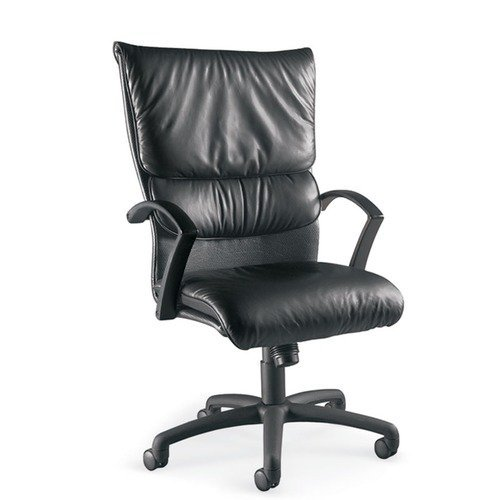 La Z Boy Carrara High Back Leather Executive Chair Walmartcom