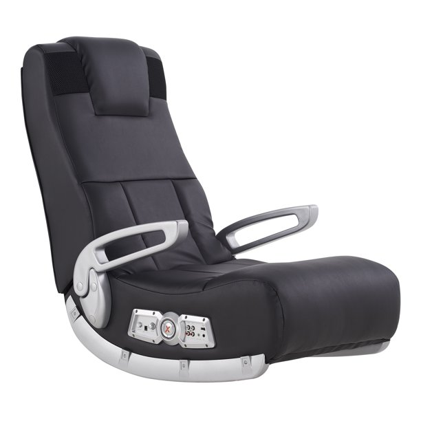 X Rocker II Wireless Gaming Chair Rocker, Black