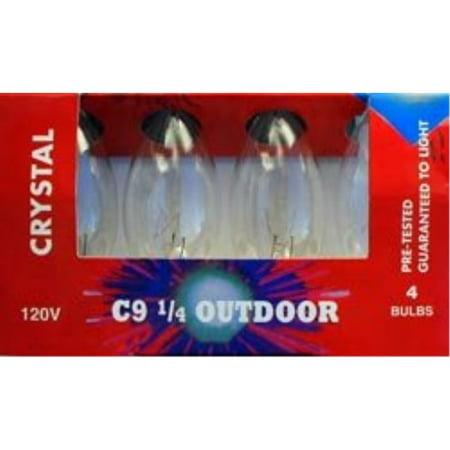 C-9 clear transparent Christmas light replacement - C-9 Halloween Lights