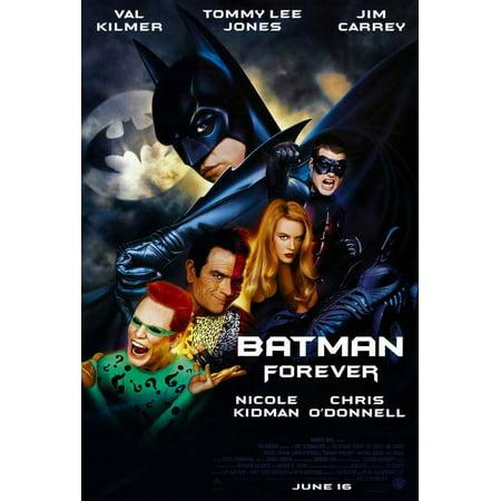 The Maine Forever Halloween Poster (Batman Forever POSTER Movie)