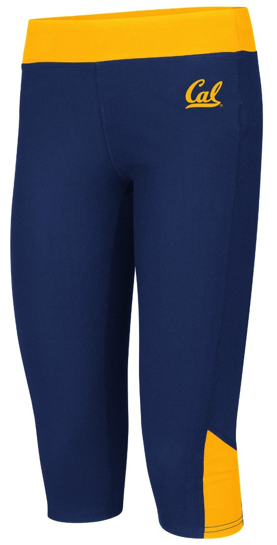 "California Golden Bears Women's NCAA ""Winder"" Capri Pants by Colosseum"