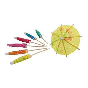 Cocktail Parasol Picks (Winco PK-P4, 4
