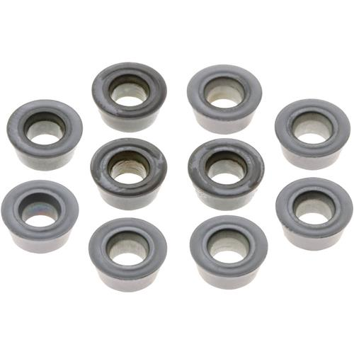 Grizzly T10387 Carbide Inserts RDMT for Steel, Stainless, pk. of 10