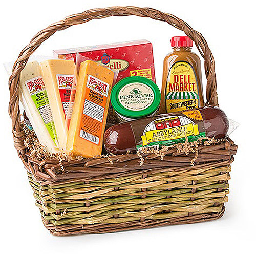Deli Direct Wisconsin Cheese and Sausage Small Gift Pack