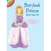 Dover Publications Storybook Princess Sticker Paper Doll