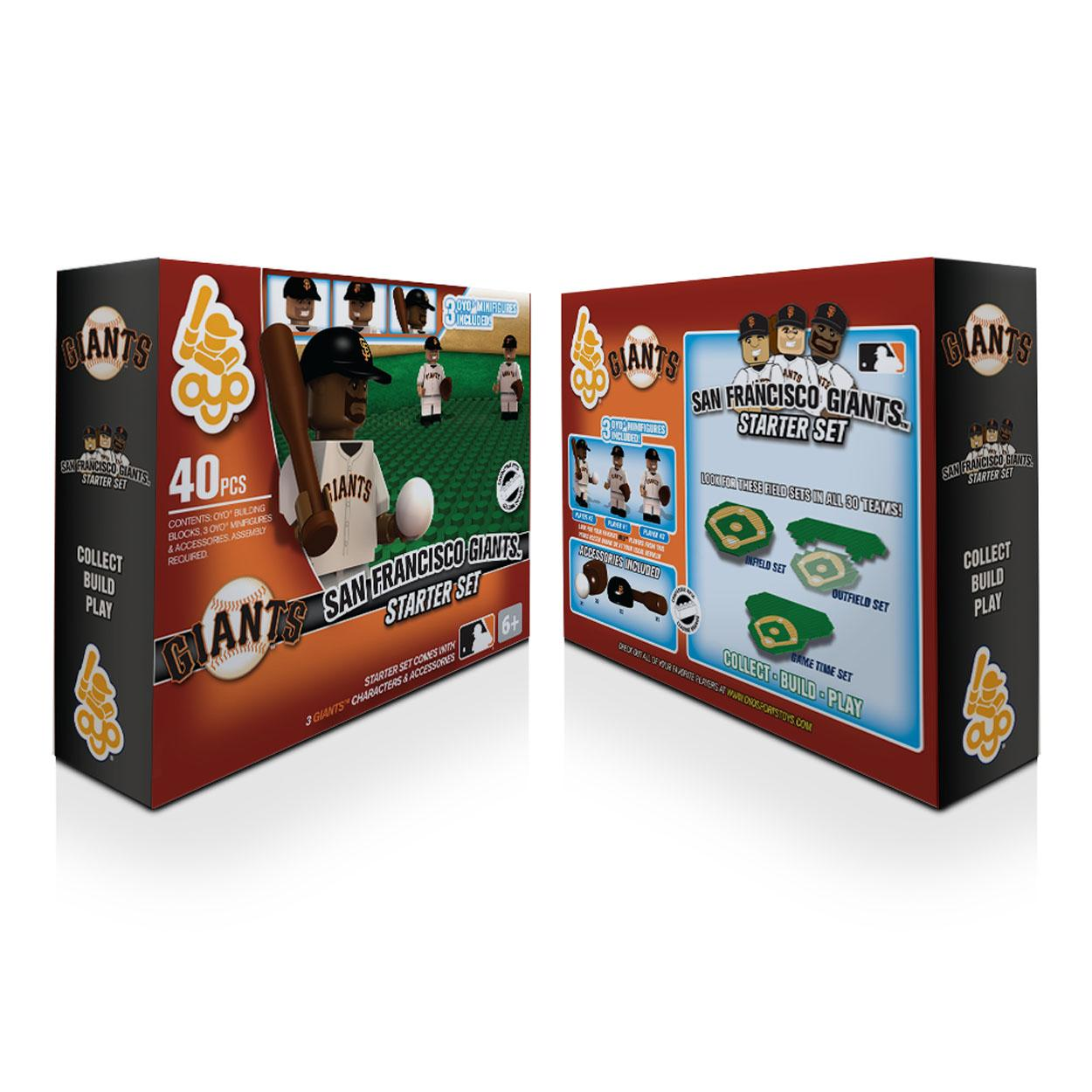 OYO MLB Practice Field Set - San Francisco Giants San Francisco Giants OYOBBSFRFPS
