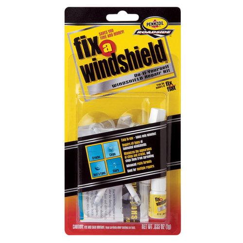 Fix-A-Flat Fix-A-Windshield Repair Kit