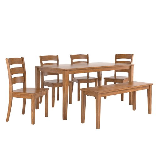 August Grove Alverson 6 Piece Dining Set