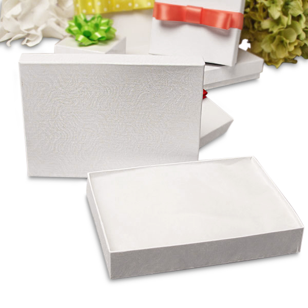 "White Jewelry Bulk Boxes | Quantity: 100 | Width: 2 1/8"" by Paper Mart"