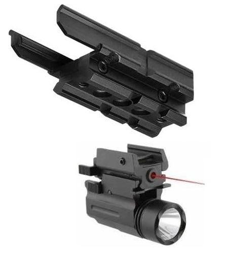 Ncstar MCUSP Heckler & Koch HK USP Compact Pistol Handgun Mount Weaver Picatinny Rail Adapter + Ultimate Arms Gear... by