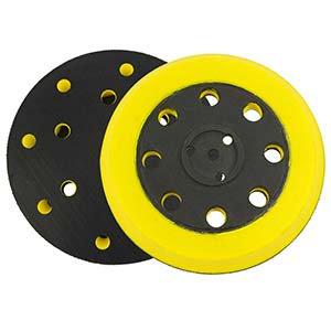 Superior Pads & Abrasives RSP45 Sander Pad - Medium (Hook & Loop 8 Holes 5