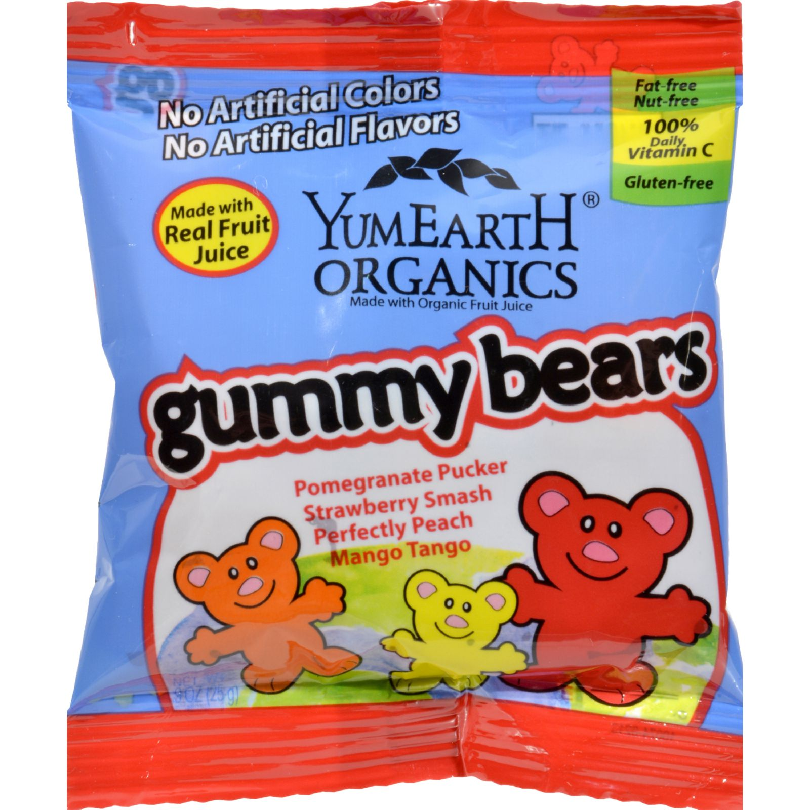 ***Discontinued***YummyEarth Gummy Bears, .9 Ounce (Pack of 12) by Yummy Earth