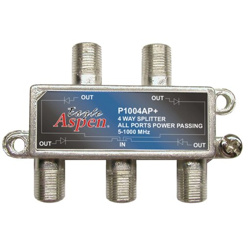 Eagle Aspen 500304 1,000MHz Splitter, 4 Way