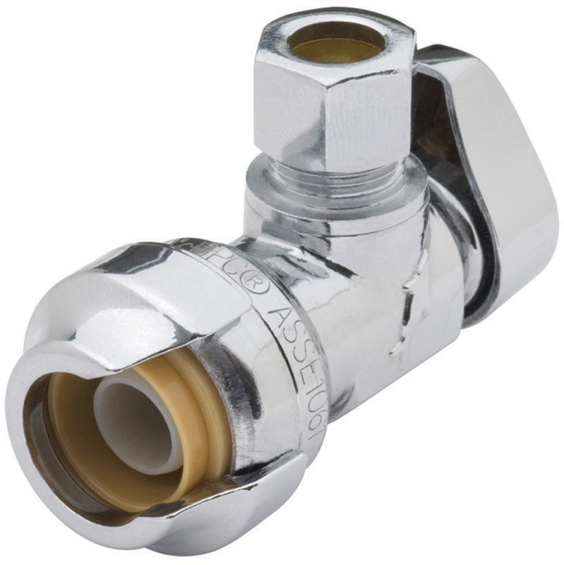 "Shark Bite 23036-0000LF 1/2"" x 3/8"" Low Lead Angle Stops & Fixture Supply Fittings"