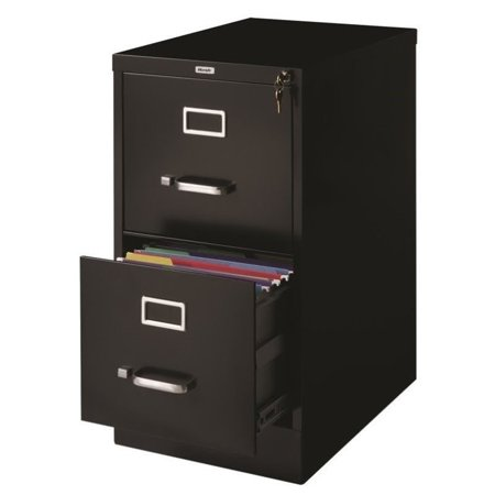 Hirsh Industries 2 Drawer Letter File Cabinet In Black