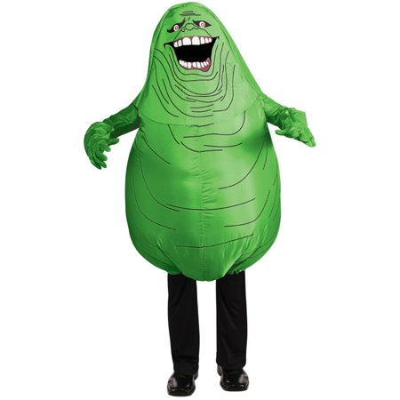 Slimer Inflatable Ghostbuster Adult Unisex 1980s Costume R880487 - Slimer Inflatable