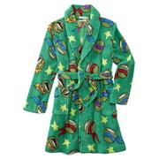 Teenage Mutant Ninja Turtles Boys Green Fleece Robe House Coat