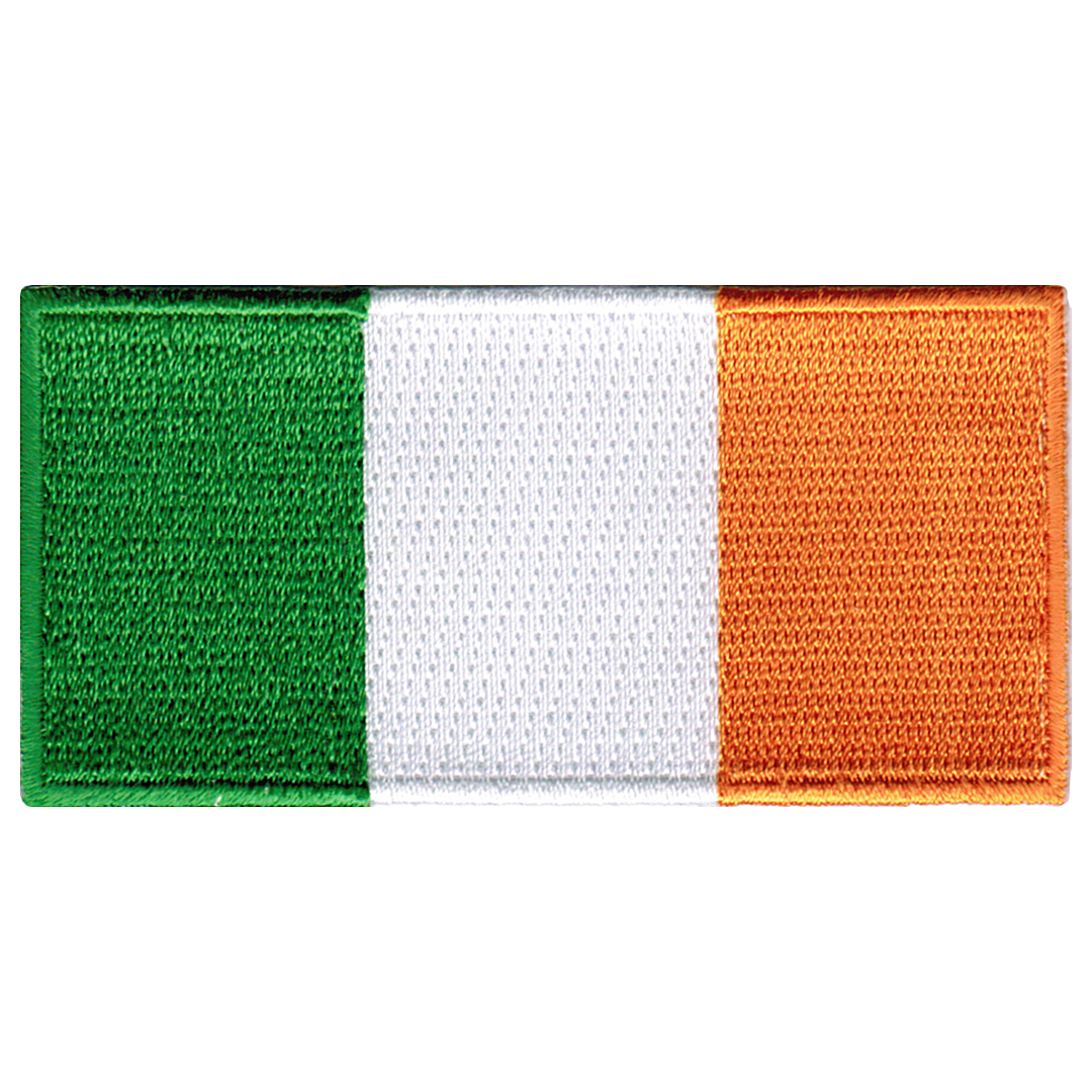 Ireland Flag Embroidered Iron-on Patch