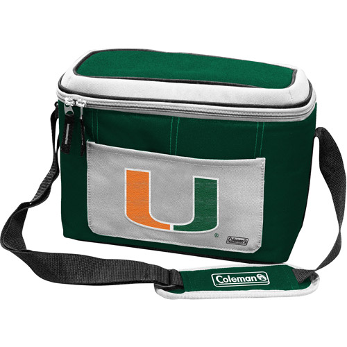 "Coleman 11"" x 7"" x 9"" 12-Can Cooler, Miami Hurricanes"