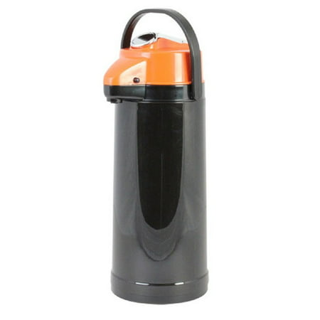 Airpot Cleaner (Thunder Group APLG022D, 2.2 lt / 74-Ounce Glass Lined Airpot, Hot Coffee Dispenser, Decaf Vacuum Server With Lever Pump )