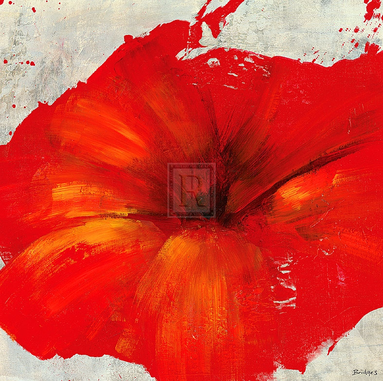 Petite Rouge II Poster Print by Bridges (12 x 12)