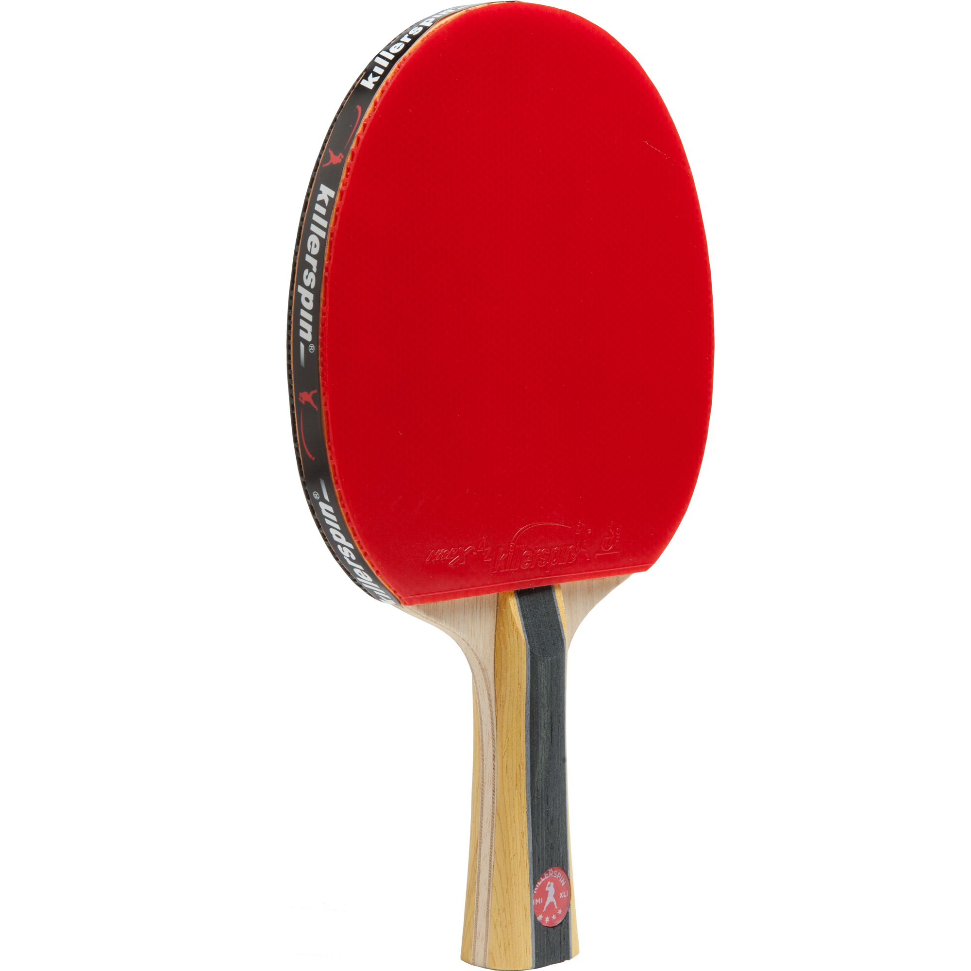 Killerspin JET600 SPIN N1 Intermediate Table Tennis Paddle, Red