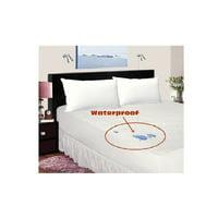 Bed Bug/Allergy Relief %100 WATERPROOF Zippered Vinyl Mattress Cover/Protector %100 SATISFACTION & MONEY BACK GUARENTEE, King