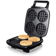 Burgess Brothers ChurWaffle Maker  Specialty Waffle Maker  Makes 4 Waffles at a Time  Premium Non-Stick Plates  Special Recipe to Make the Perfect Cornbread ChurWaffles & Waffles Every Time