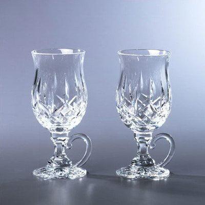 Waterford Lismore irish coffee glasses, set of 2