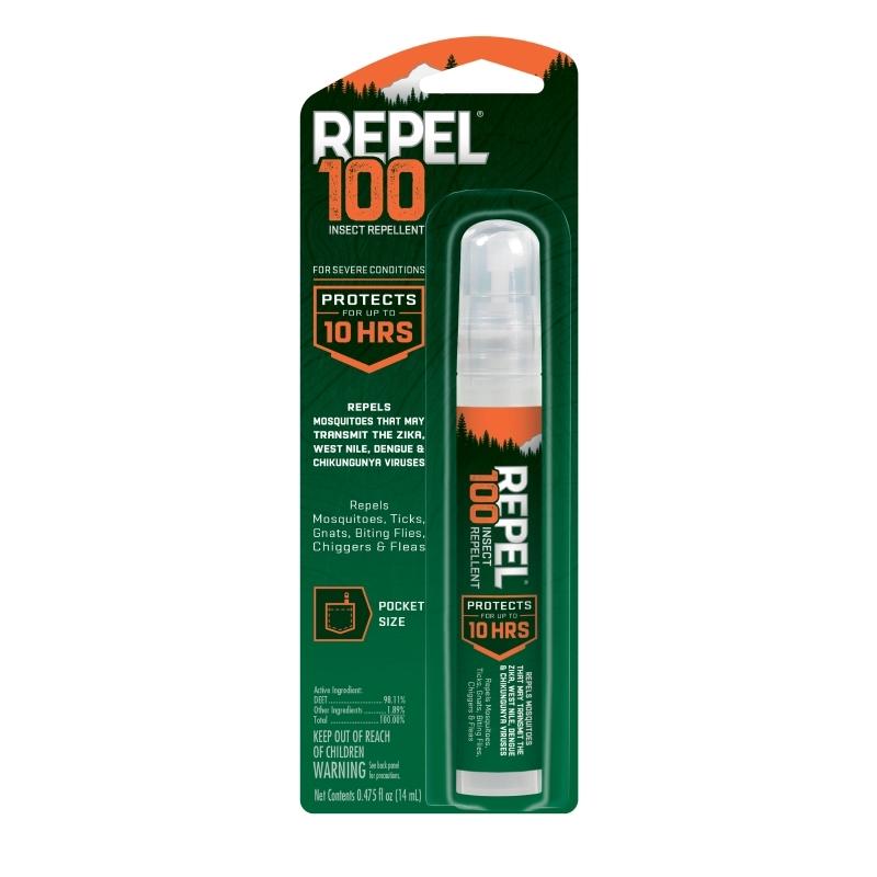 Repel 100 Pen Pump Spray Insect Repellent, 0.475-Ounce