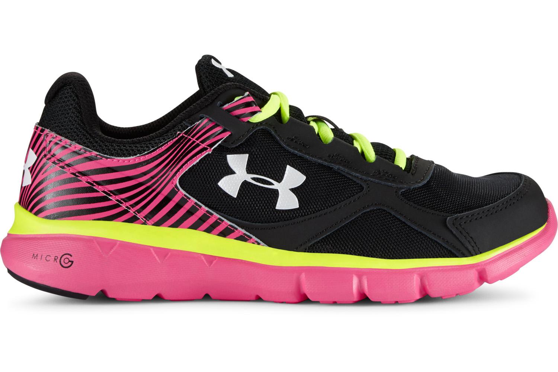 Girl's Under Armour Micro G Shoe Velocity RN Running Shoe G eb5eb5
