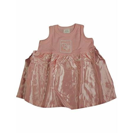 Little Giraffe - Baby Girls, Sleeveless Dress PINK / 6 Months - Next Giraffe Dress
