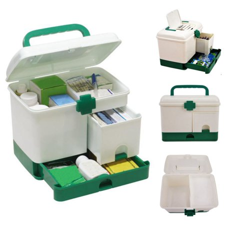 Moaere First Aid Kit Storage Box Organizer Medicine Case Family Emergency  Kit | Walmart Canada