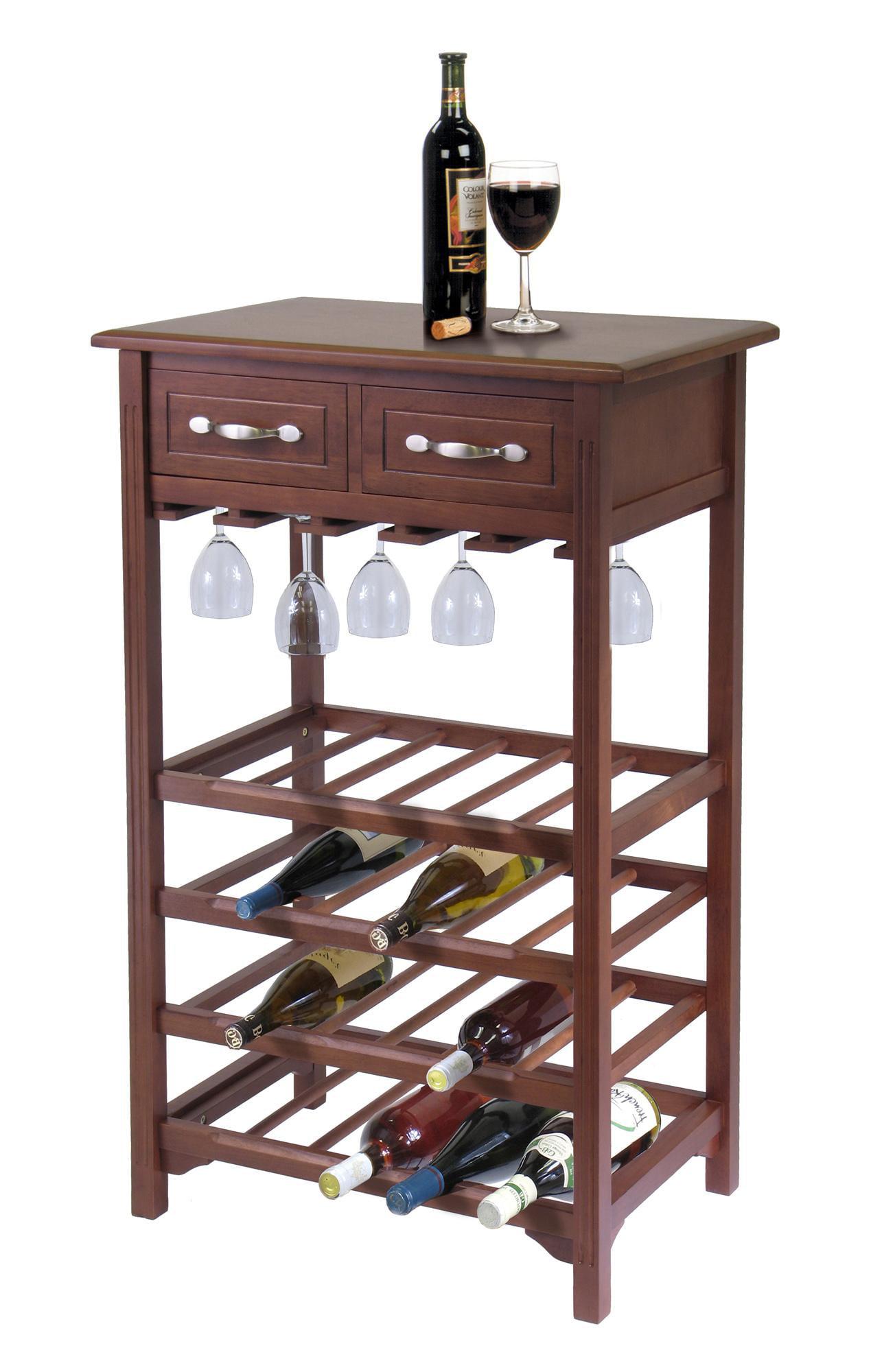 Walmart Furniture Online: Wine Rack With 2 Drawers