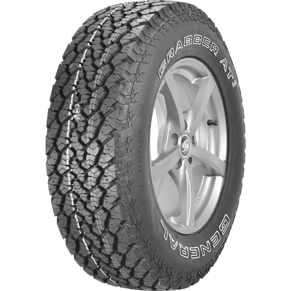 What Time Does Discount Tire Close >> General Grabber AT2 LT235/80R17 E OWL - Walmart.com