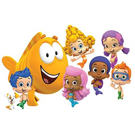 Bubble Guppies Edible Cake Topper Frosting 1/4 Sheet Birthday Party](Bubble Guppies Birthday)
